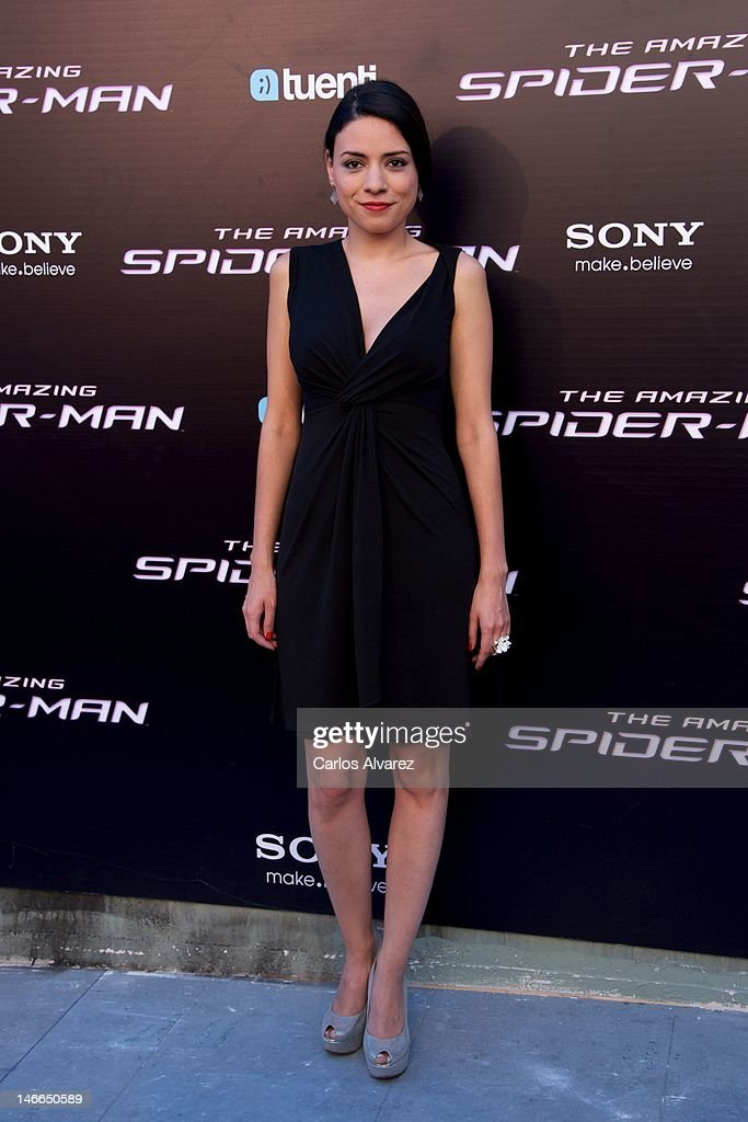 Spanish actress Ana Arias attends 'The Amazing Spider-Man' premiere at Callao cinema on June 21, 2012 in Madrid, Spain.