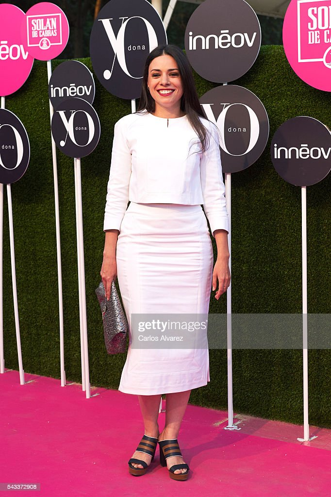 Spanish actress Ana Arias attends 'Yo Dona' International awards on June 27, 2016 in Madrid, Spain.