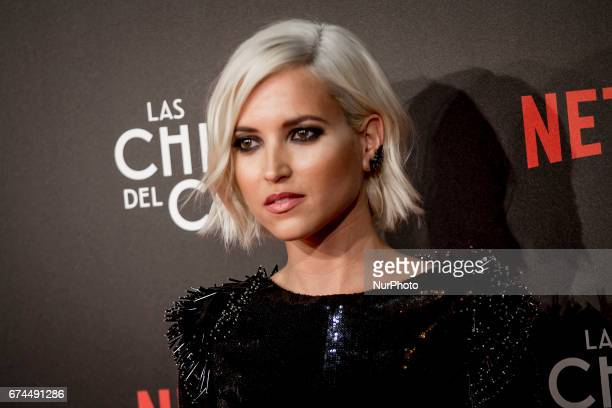 Spanish actress Ana Fernadez attends 'Las Chicas Del Cable' premiere at the Callao cinema on April 27 2017 in Madrid Spain