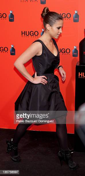 Spanish actress Ana Fernandez attends Hugo Boss Night Party on December 13 2011 in Madrid Spain