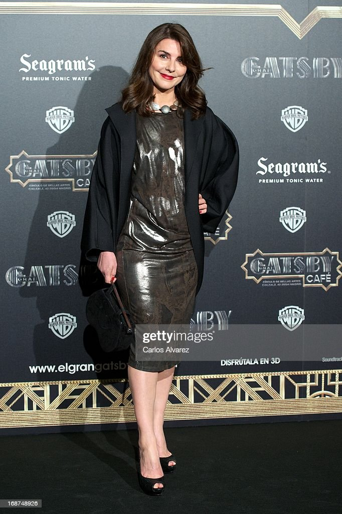 Spanish actress Ana Fernandez attends the 'El Gran Gatsby Cafe' inauguration party at the Circulo de Bellas Artes on May 14, 2013 in Madrid, Spain.