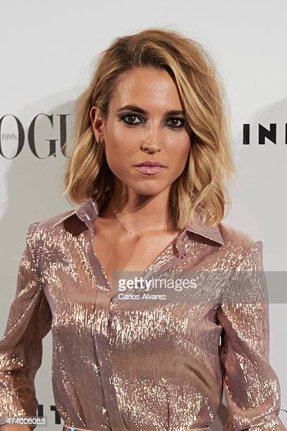 Spanish actress Ana Fernandez attends the 'Vogue Who's On Next' party at the Duarte Pinto Coelho Palace on May 19 2015 in Madrid Spain