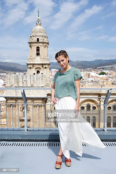 Spanish actress Ana Fernandez presents 'Solo Quimica' movie during the 17th Malaga Film Festival 2014 on March 28 2014 in Malaga Spain