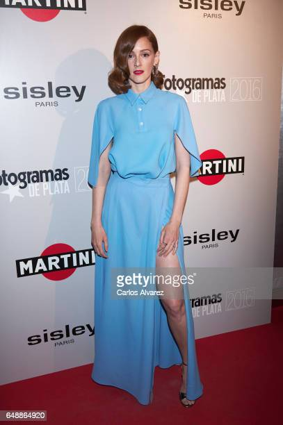 Spanish actress Ana Maria Polvorosa attends the Fotogramas Magazine cinema awards 2017 at the Joy Eslava Club on March 6 2017 in Madrid Spain