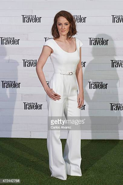 Spanish actress Ana Maria Polvorosa attends the VII Conde Nast Traveler Awards at the Giner de los Rios Foundation on May 7 2015 in Madrid Spain