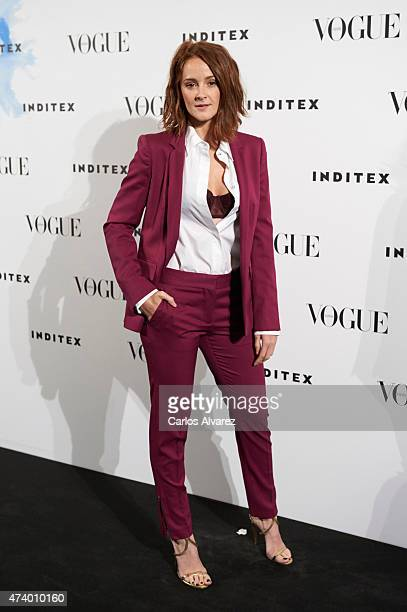 Spanish actress Ana Maria Polvorosa attends the 'Vogue Who's On Next' party at the Duarte Pinto Coelho Palace on May 19 2015 in Madrid Spain