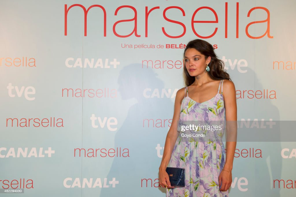 Spanish actress Ana Rojas attends 'Marsella' premiere at the Capitol cinema on July 17, 2014 in Madrid, Spain.