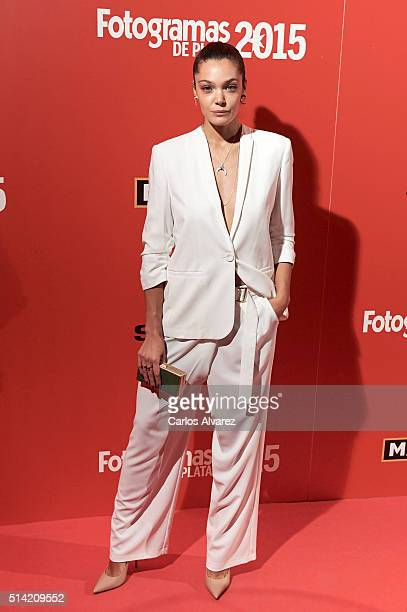 Spanish actress Ana Rujas attends the Fotogramas Awards 2015 at the Joy Eslava Club on March 7 2016 in Madrid Spain