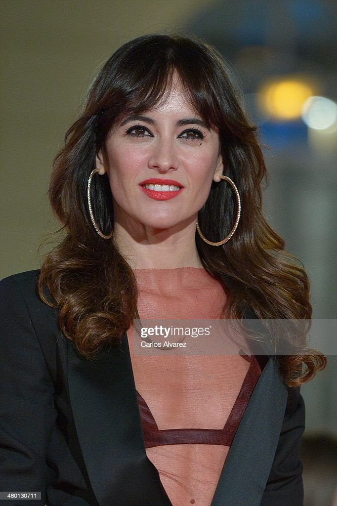 Spanish actress Ana Turpin attends the 'Carmina y Amen' premiere during the 17th Malaga Film Festival at the Cervantes Theater on March 22, 2014 in Malaga, Spain.