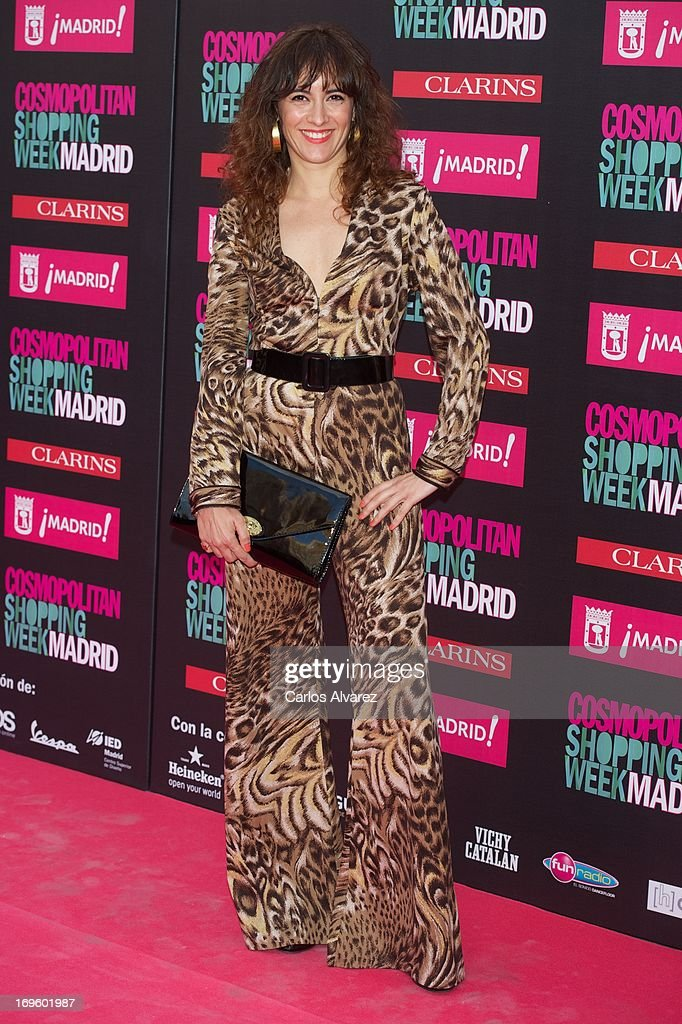 Spanish actress Ana Turpin attends the 'Cosmopolitan Shopping Week' party at the Plaza de Callao on May 28, 2013 in Madrid, Spain.