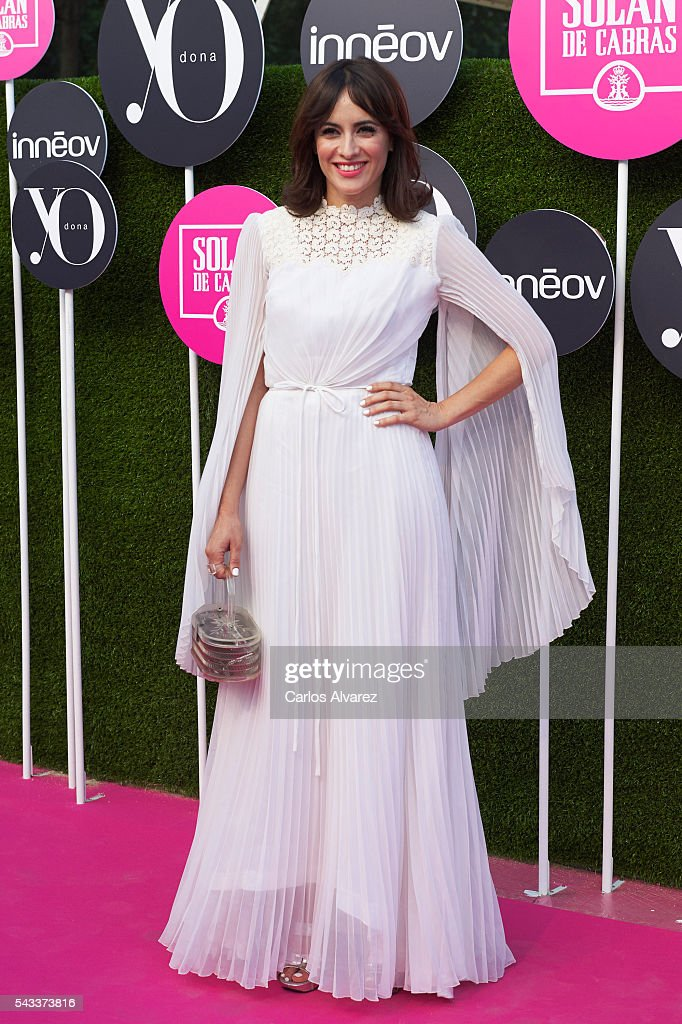 Spanish actress Ana Turpin attends 'Yo Dona' International awards on June 27, 2016 in Madrid, Spain.