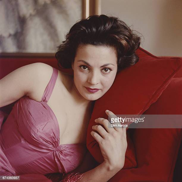 Spanish actress and singer Carmen Sevilla Madrid 1957