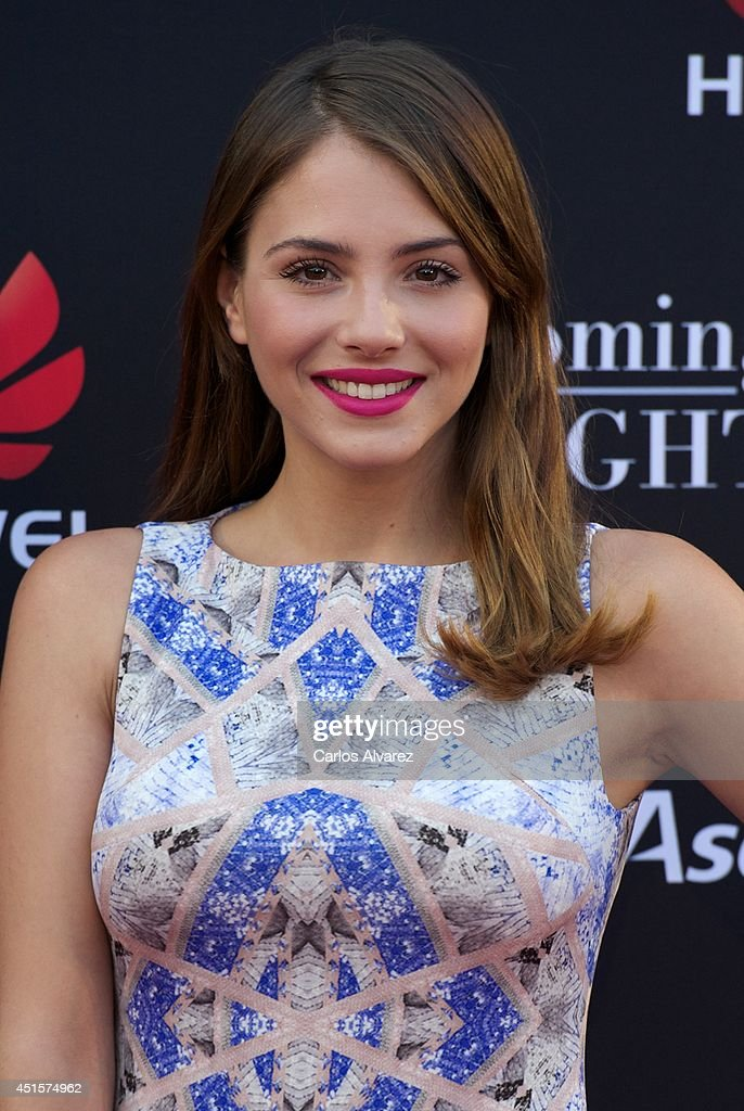 Spanish actress <a gi-track='captionPersonalityLinkClicked' href=/galleries/search?phrase=Andrea+Duro&family=editorial&specificpeople=5514325 ng-click='$event.stopPropagation()'>Andrea Duro</a> attends Huawei Ascend P7 cocktail party at the Pastrana Palace on July 1, 2014 in Madrid, Spain.