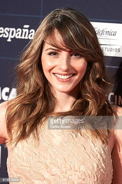 Spanish actress Andrea Duro attends the 'Cien Anos de Perdon' premiere at the Capitol cinema on March 1 2016 in Madrid Spain