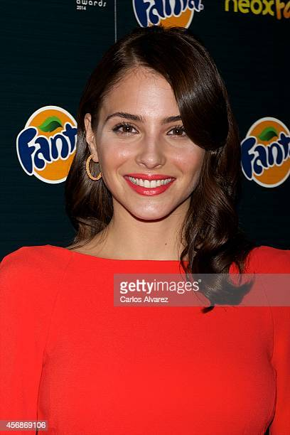 Spanish actress Andrea Duro attends the Neox Fan Awards 2014 at the Compac Gran Via Theater on October 8 2014 in Madrid Spain
