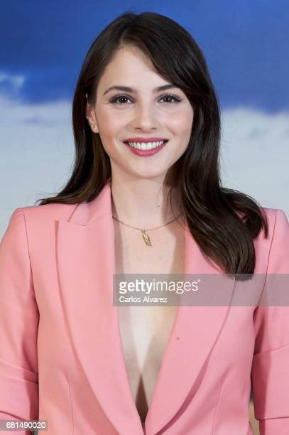 Spanish actress Andrea Duro attends the 'Perdoname Senor' photocall at Mediaset Studios on May 10 2017 in Madrid Spain