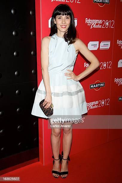 Spanish actress Barbara Goenaga attends Fotogramas awards 2013 at the Joy Eslava Club on March 11 2013 in Madrid Spain