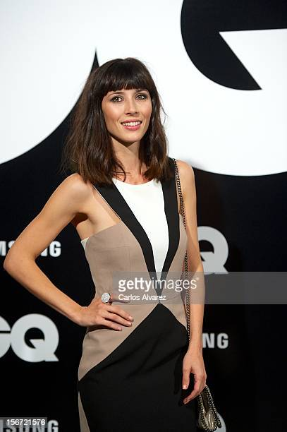 Spanish actress Barbara Goenaga attends the GQ Men Of The Year award 2012 at the Ritz Hotel on November 19 2012 in Madrid Spain