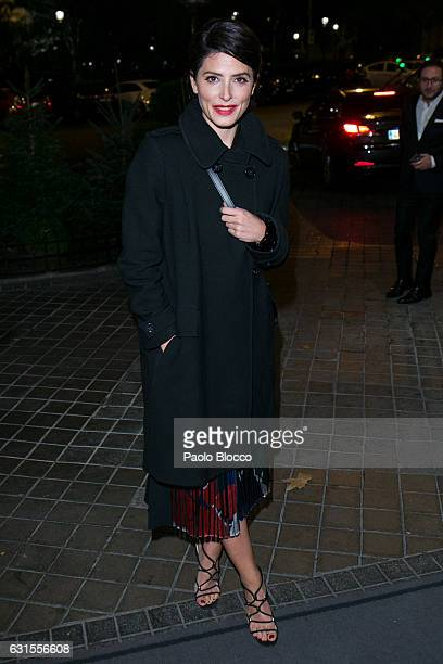 Spanish actress Barbara Lennie arrives at the 31st Goya Awards nominated party at Ritz Hotel on January 12 2017 in Madrid Spain
