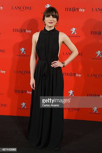 Spanish actress Barbara Lennie attends the 'Mujer de Hoy' awards 2013 at the Hotel Palace on December 17 2013 in Madrid Spain