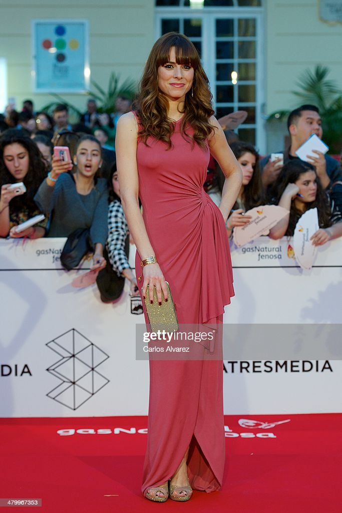 Spanish actress Begona Maestre attends the 17th Malaga Film Festival 2014 opening ceremony at the Cervantes Theater on March 21, 2014 in Malaga, Spain.
