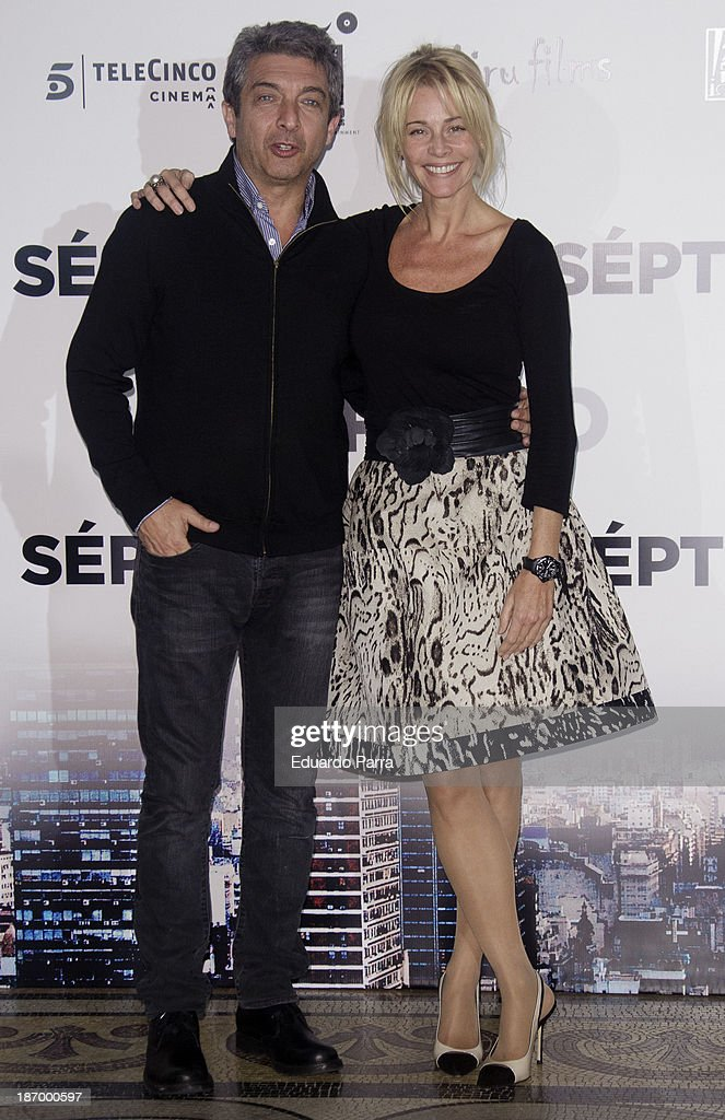 Spanish actress <a gi-track='captionPersonalityLinkClicked' href=/galleries/search?phrase=Belen+Rueda&family=editorial&specificpeople=213596 ng-click='$event.stopPropagation()'>Belen Rueda</a> and actor <a gi-track='captionPersonalityLinkClicked' href=/galleries/search?phrase=Ricardo+Darin&family=editorial&specificpeople=769073 ng-click='$event.stopPropagation()'>Ricardo Darin</a> attend the 'Septimo' photocall at the Casa de America on November 5, 2013 in Madrid, Spain.