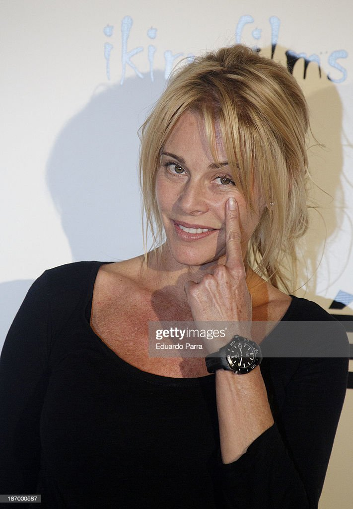 Spanish actress <a gi-track='captionPersonalityLinkClicked' href=/galleries/search?phrase=Belen+Rueda&family=editorial&specificpeople=213596 ng-click='$event.stopPropagation()'>Belen Rueda</a> attends the 'Septimo' photocall at the Casa de America on November 5, 2013 in Madrid, Spain.
