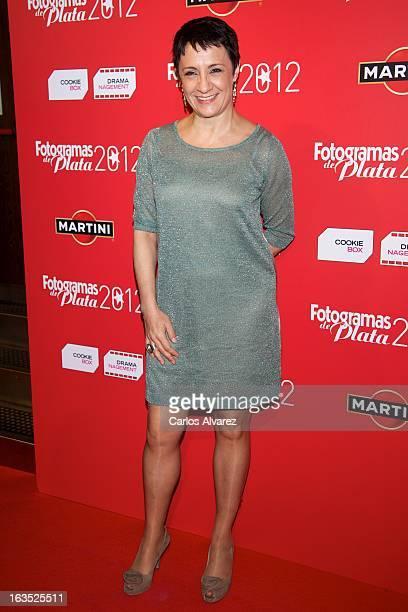 Spanish actress Blanca Portillo attends Fotogramas awards 2013 at the Joy Eslava Club on March 11 2013 in Madrid Spain