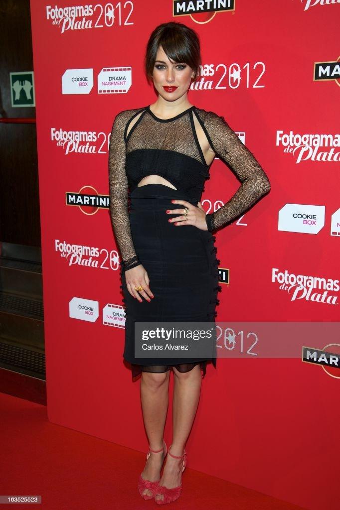 Spanish actress Blanca Suarez attends Fotogramas awards 2013 at the Joy Eslava Club on March 11 2013 in Madrid Spain