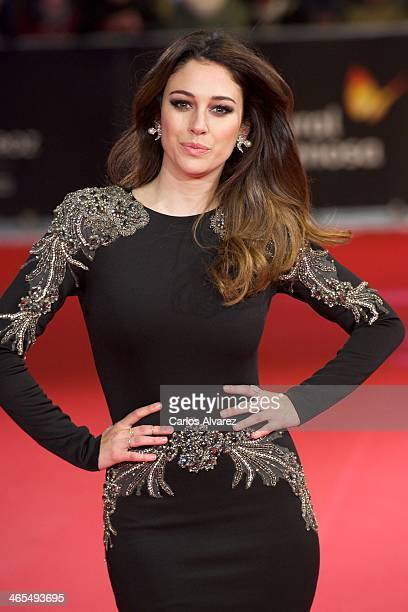 Spanish actress Blanca Suarez attends the 'Feroz' cinema awards 2014 at the Callao cinema on January 27 2014 in Madrid Spain