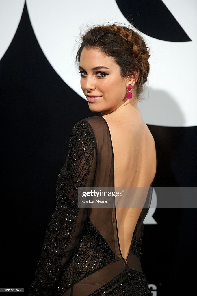 Spanish actress Blanca Suarez attends the GQ Men Of The Year award 2012 at the Ritz Hotel on November 19, 2012 in Madrid, Spain.