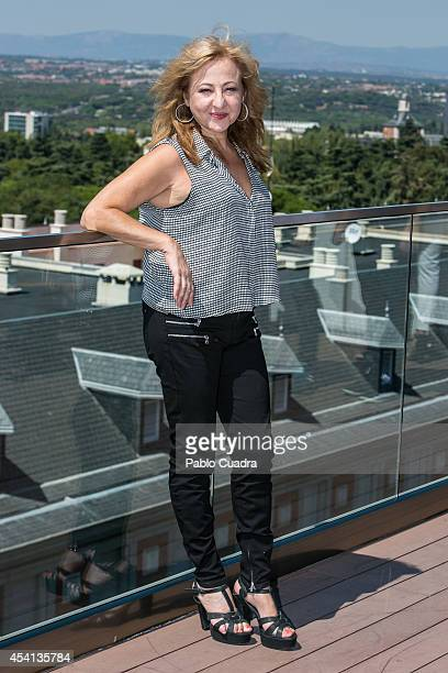 Spanish actress Carmen Machi attends ''El Tiempo De Los Monstruos' photocall on August 25 2014 in Madrid Spain