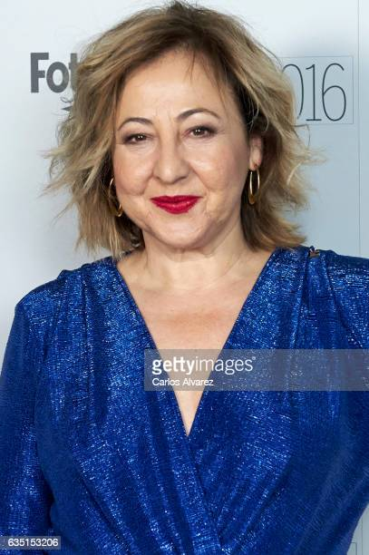 Spanish actress Carmen Machi attends 'Fotogramas de Plata' awards 2016 at the Tatel Restaurant on February 13 2017 in Madrid Spain