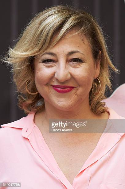 Spanish actress Carmen Machi attends 'Pieles' photocall at the Only You Hotel on July 1 2016 in Madrid Spain