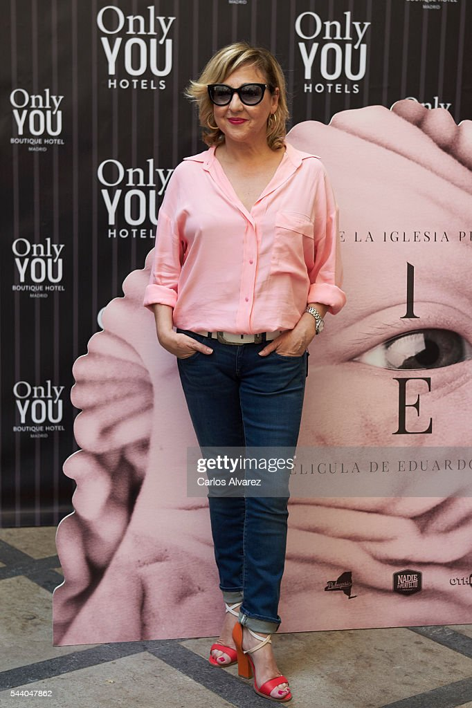 Spanish actress <a gi-track='captionPersonalityLinkClicked' href=/galleries/search?phrase=Carmen+Machi&family=editorial&specificpeople=605775 ng-click='$event.stopPropagation()'>Carmen Machi</a> attends 'Pieles' photocall at the Only You Hotel on July 1, 2016 in Madrid, Spain.