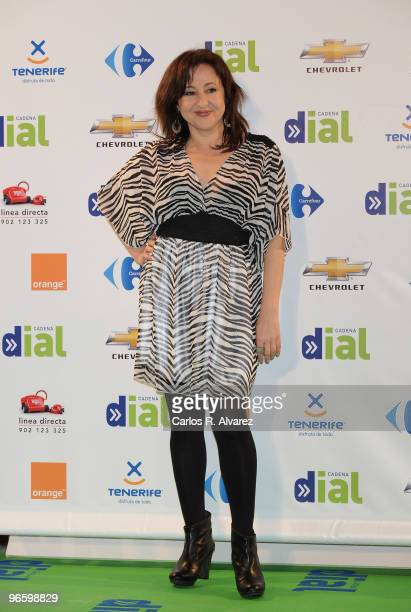 Spanish actress Carmen Machi attends the ''Cadena Dial'' 2010 awards at the Tenerife Auditorium on February 11 2010 in Tenerife Spain