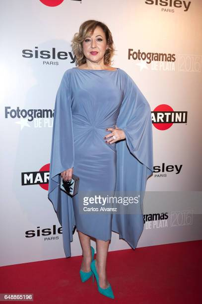 Spanish actress Carmen Machi attends the Fotogramas Magazine cinema awards 2017 at the Joy Eslava Club on March 6 2017 in Madrid Spain