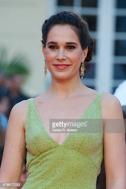 Spanish actress Celia Freijeiro attends the 17th Malaga Film Festival 2014 opening ceremony at the Cervantes Theater on March 21 2014 in Malaga Spain