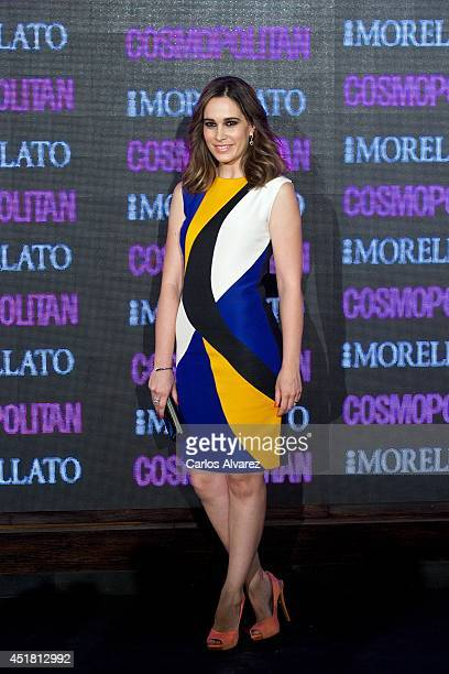Spanish actress Celia Freijeiro attends the Cosmopolitan Beauty Awards at the Platea Restaurant on July 7 2014 in Madrid Spain