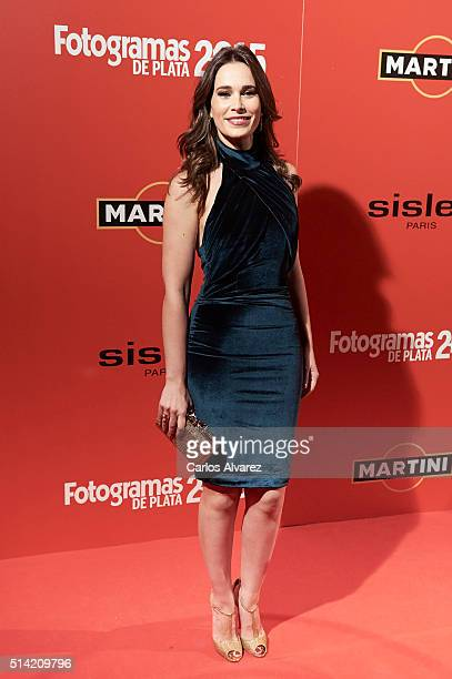Spanish actress Celia Freijeiro attends the Fotogramas Awards 2015 at the Joy Eslava Club on March 7 2016 in Madrid Spain