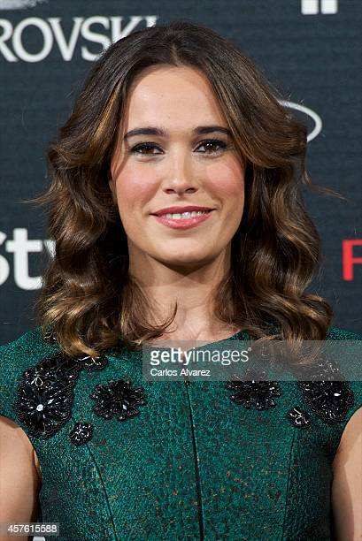 Spanish actress Celia Freijeiro attends the In Style Magazine 10th Anniversary party at the Melia Fenix Hotel on October 21 2014 in Madrid Spain