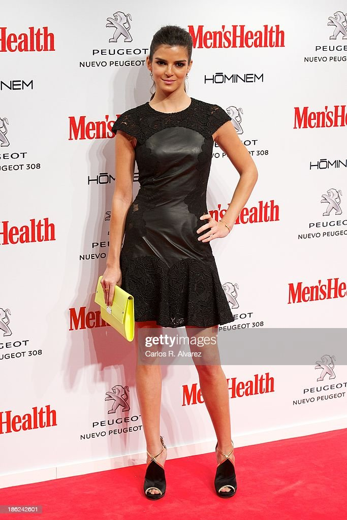 Spanish actress Clara Lago attends Men's Health Awards 2013 at the Canal Theater on October 29, 2013 in Madrid, Spain.