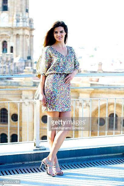 Spanish actress Clara Lago poses during the 18th Malaga Spainsh Film Festival at AC Malaga Palacio Hotel on April 22 2015 in Malaga Spain