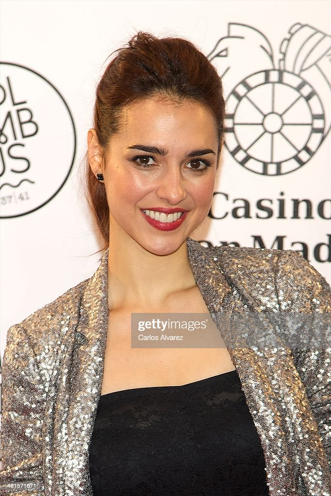 Spanish actress Cristina Brondo attends the Casino Gran Madrid Colon opening on January 9, 2014 in Madrid, Spain.
