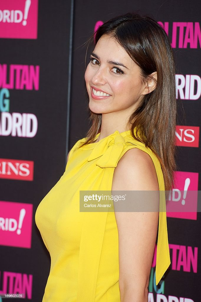 Spanish actress Cristina Brondo attends the 'Cosmopolitan Shopping Week' party at the Plaza de Callao on May 28, 2013 in Madrid, Spain.