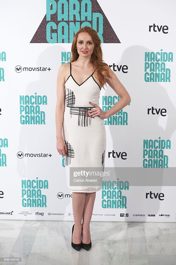 Spanish actress Cristina Castano attends 'Nacidas Para Ganar' photocall at the Eurobuilding Hotel on May 04, 2016 in Madrid, Spain.