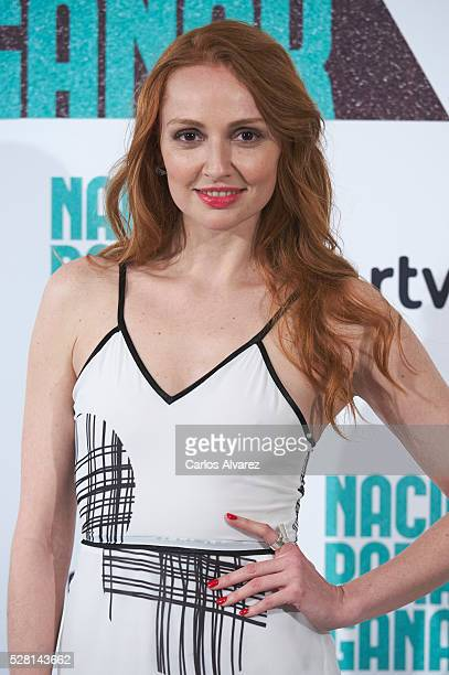 Spanish actress Cristina Castano attends 'Nacidas Para Ganar' photocall at the Eurobuilding Hotel on May 04 2016 in Madrid Spain
