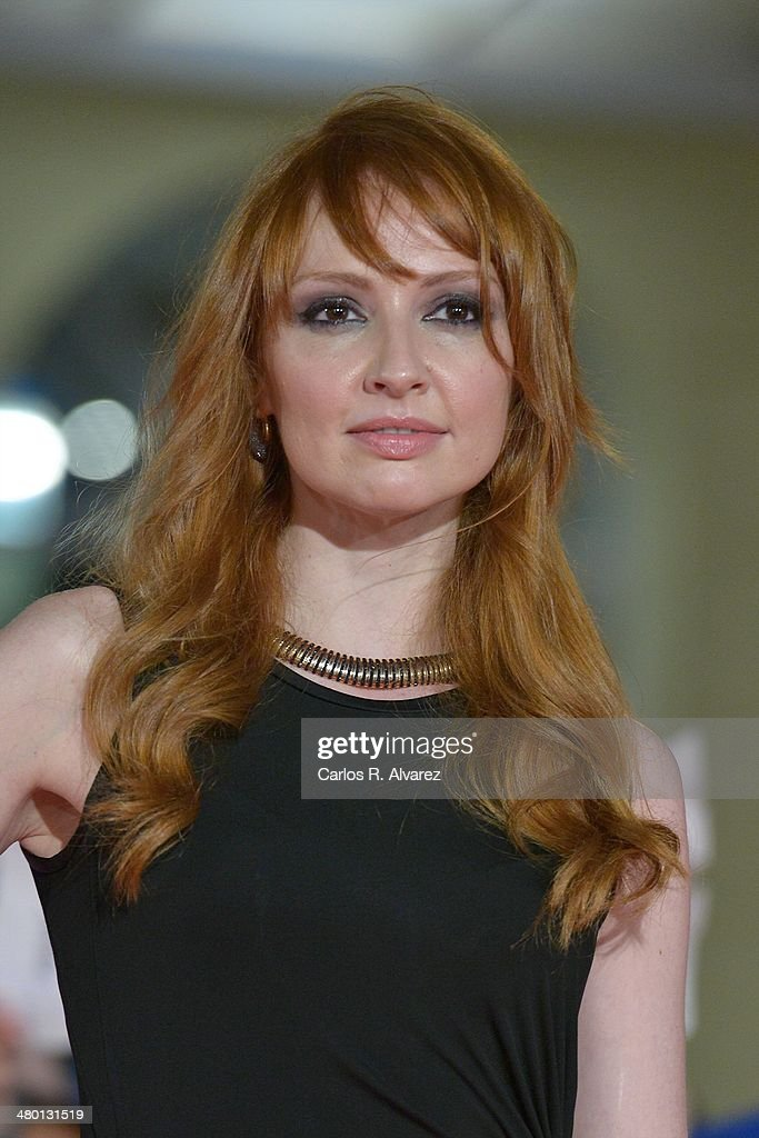 Spanish actress Cristina Castano attends the 'Carmina y Amen' premiere during the 17th Malaga Film Festival at the Cervantes Theater on March 22, 2014 in Malaga, Spain.
