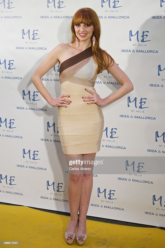 Spanish actress Cristina Castano attends the Hotel ME reopening party on May 8, 2014 in Madrid, Spain.