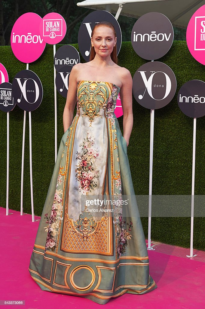 Spanish actress Cristina Castano attends 'Yo Dona' International awards on June 27, 2016 in Madrid, Spain.